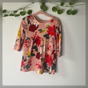 Old Navy baby girl Floral Dress size 12-18 months